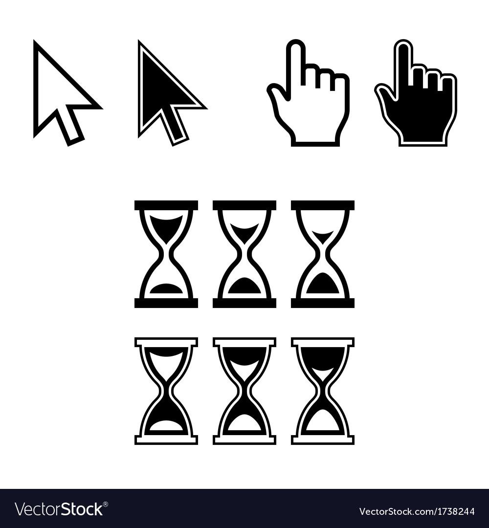 Cursor Icons Mouse Pointer Set