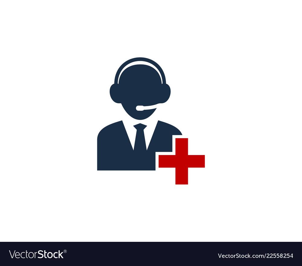 Add call center logo icon design