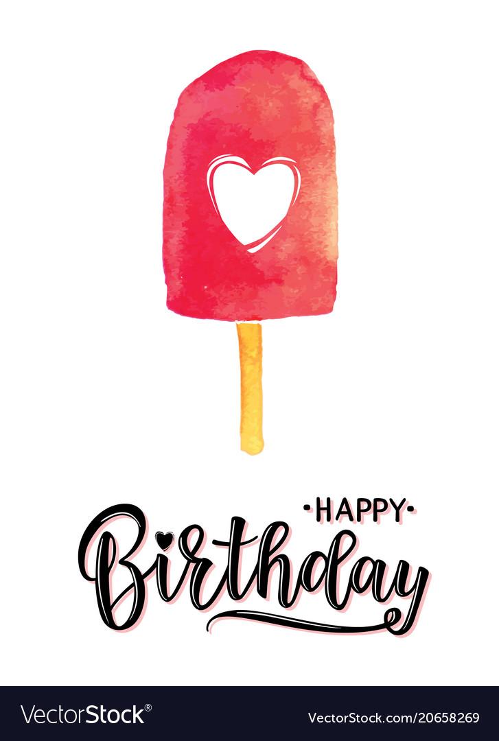 A happy birthday invitation