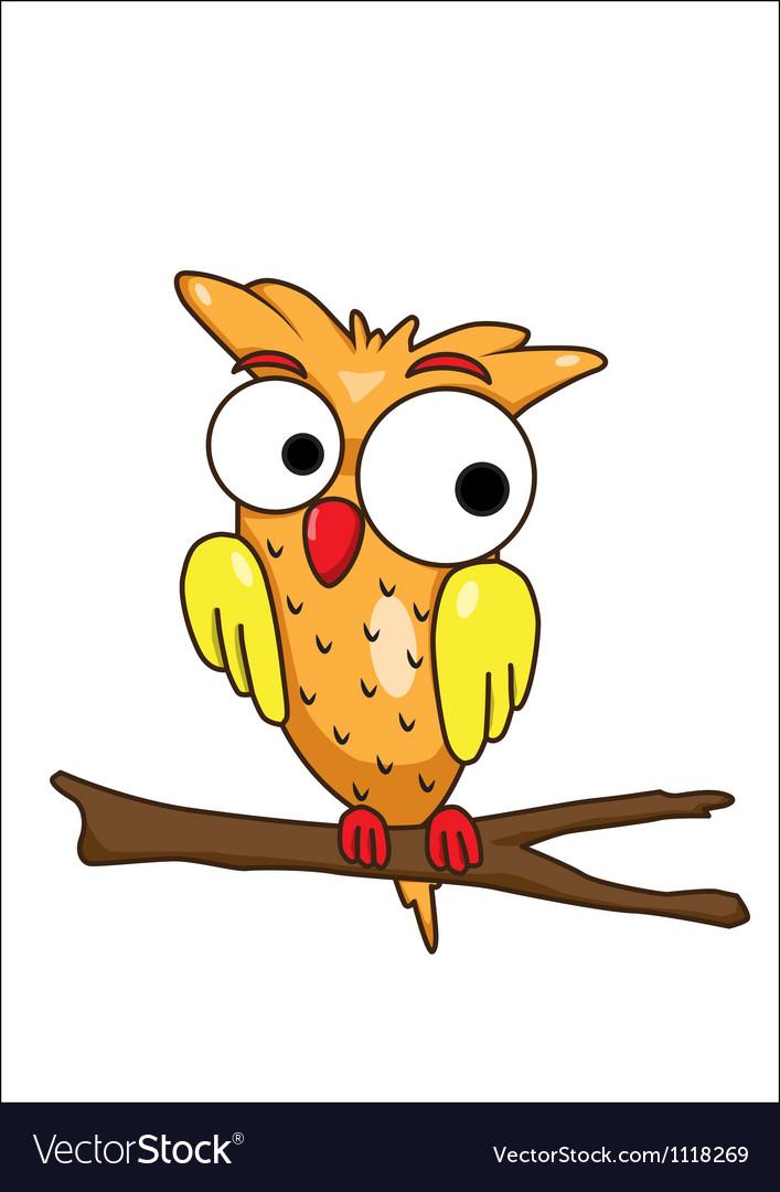 Olw cartoon vector image