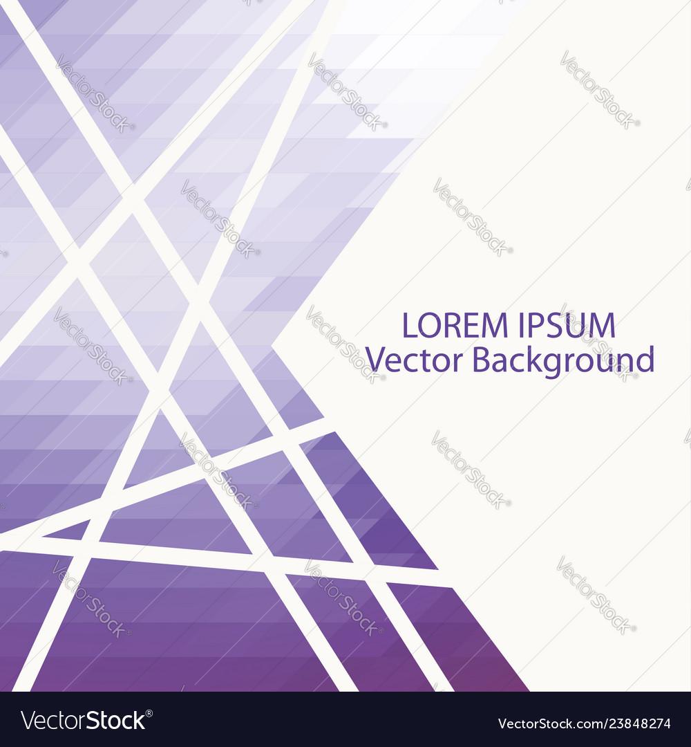 Mosaic backdrop with geometric shapes