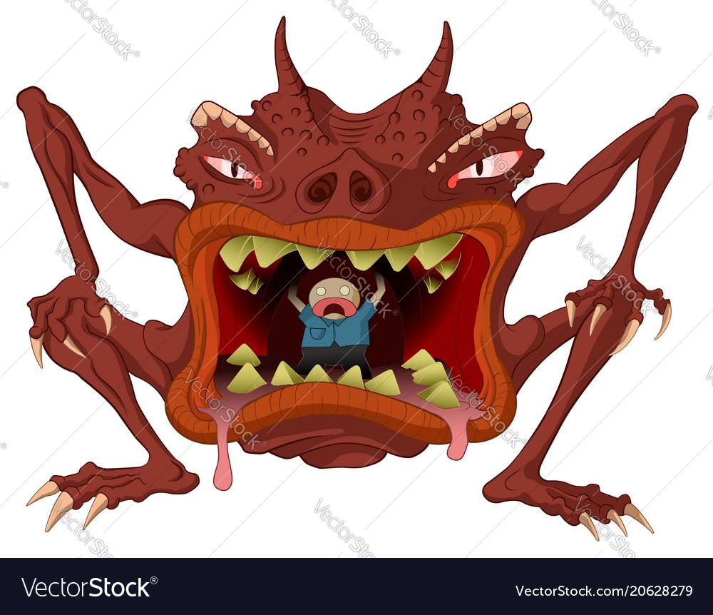 Cannibal monster
