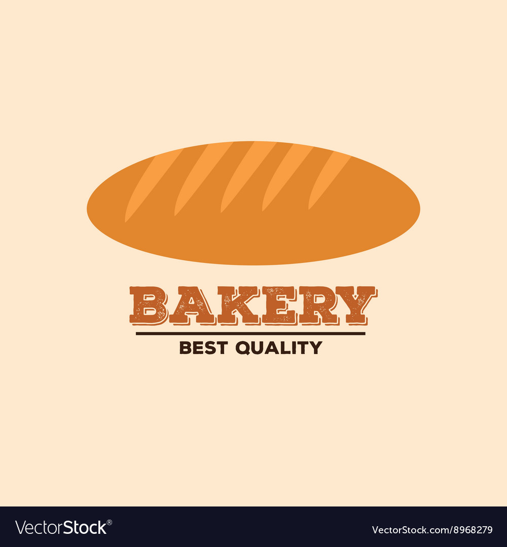 Delicious bakery label