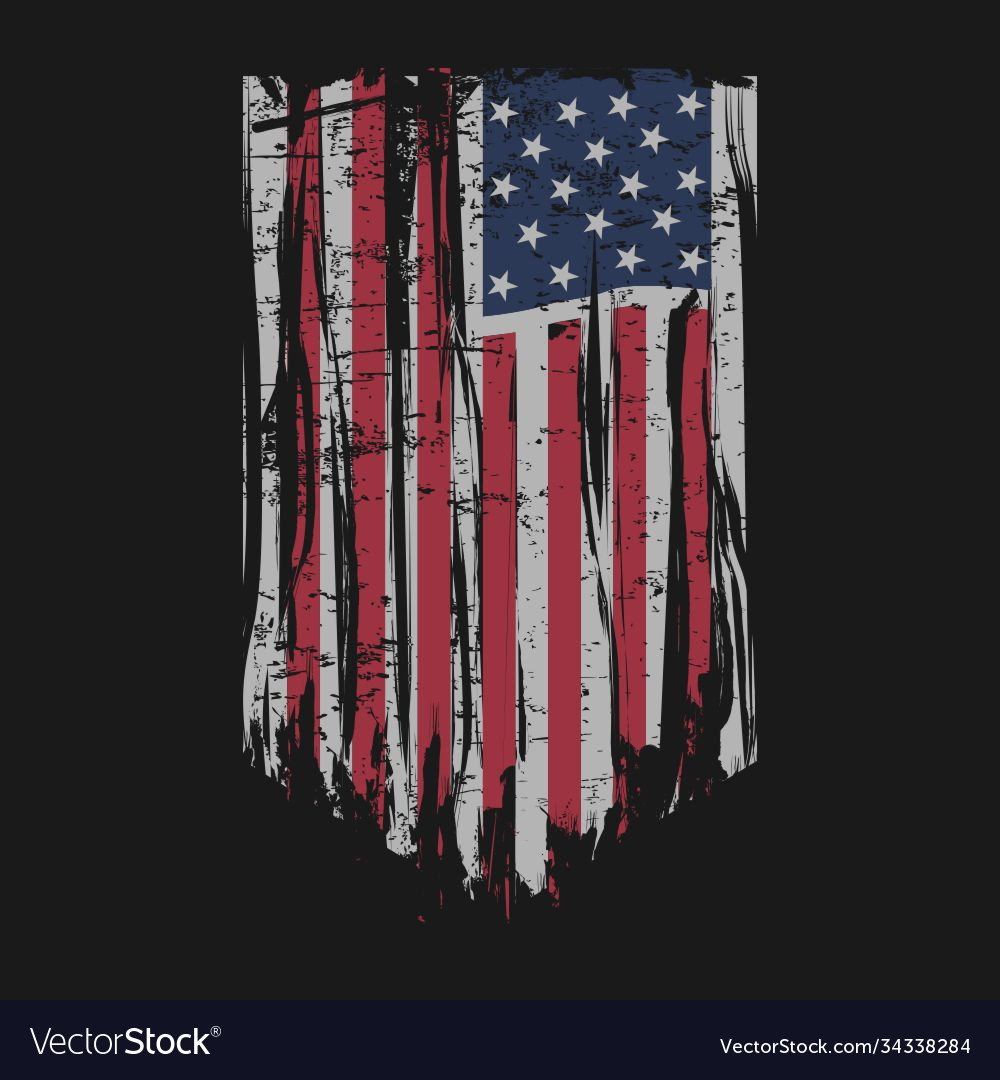 American flag design template for sale