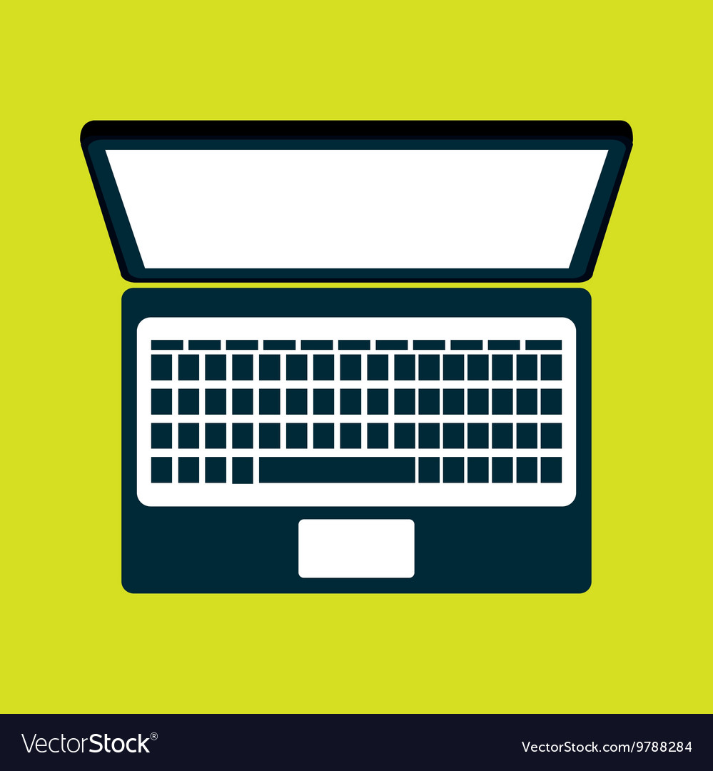 Compuer isolated icon design