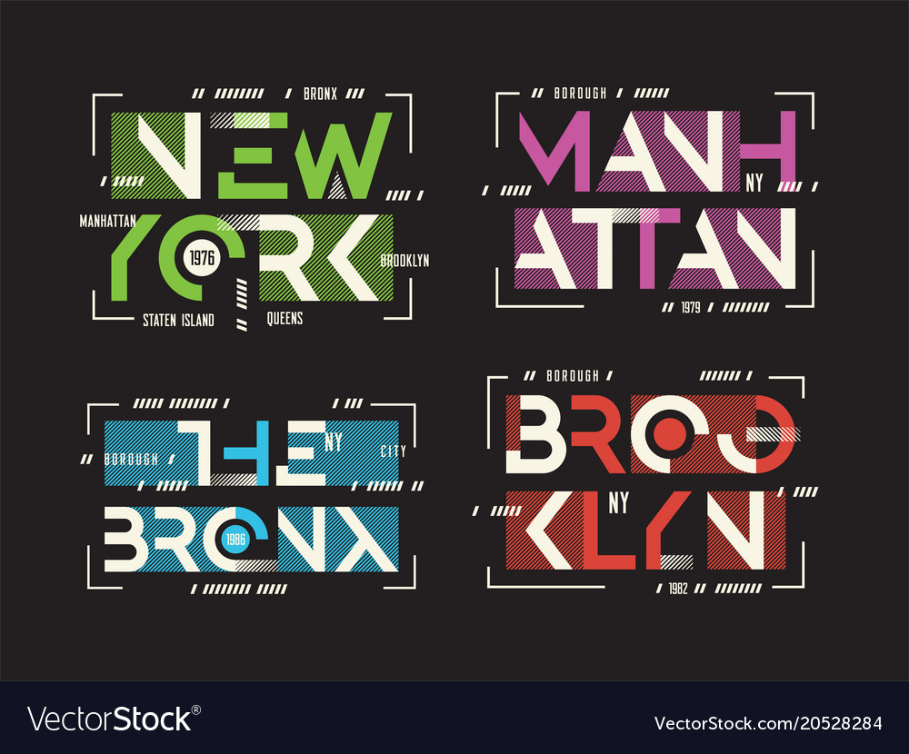 New york brooklyn the bronx manhattan t