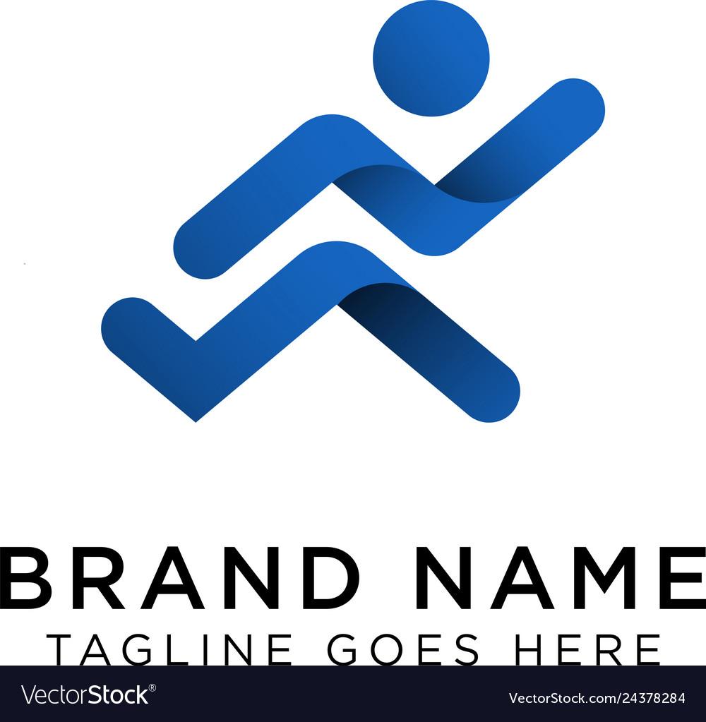 Running logo design inspiration