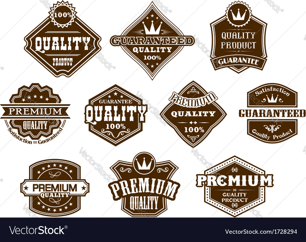 labels and banners in western style royalty free vector rh vectorstock com vector label art nouveau vector label shape