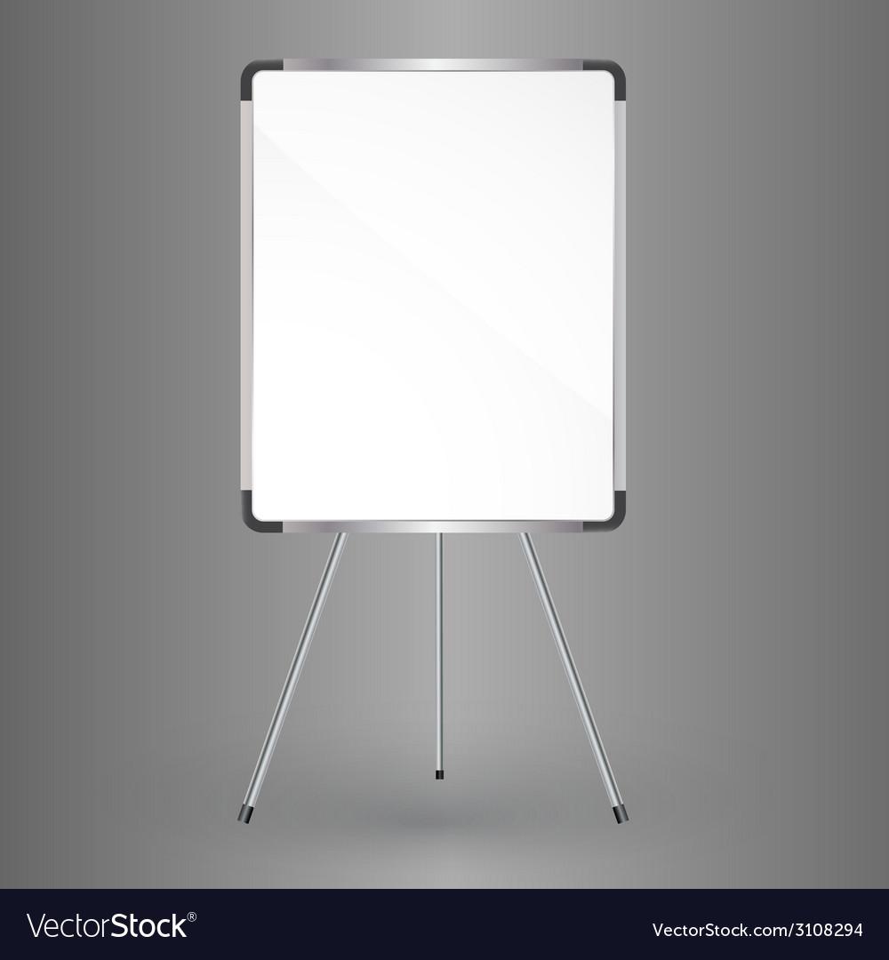 Whiteboard vector image