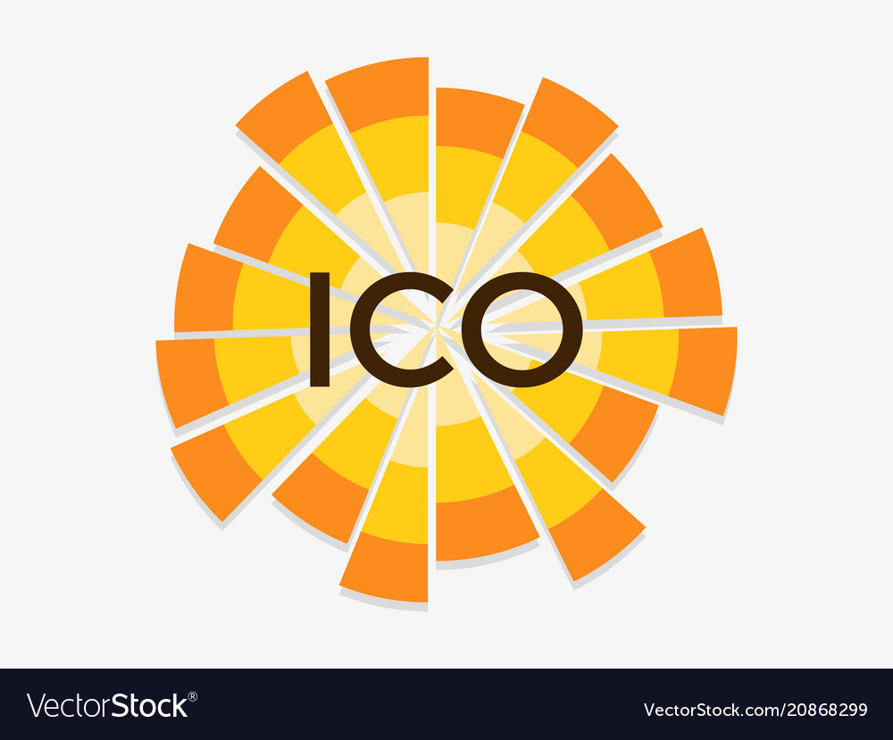 Initial coin offering abbreviated ico