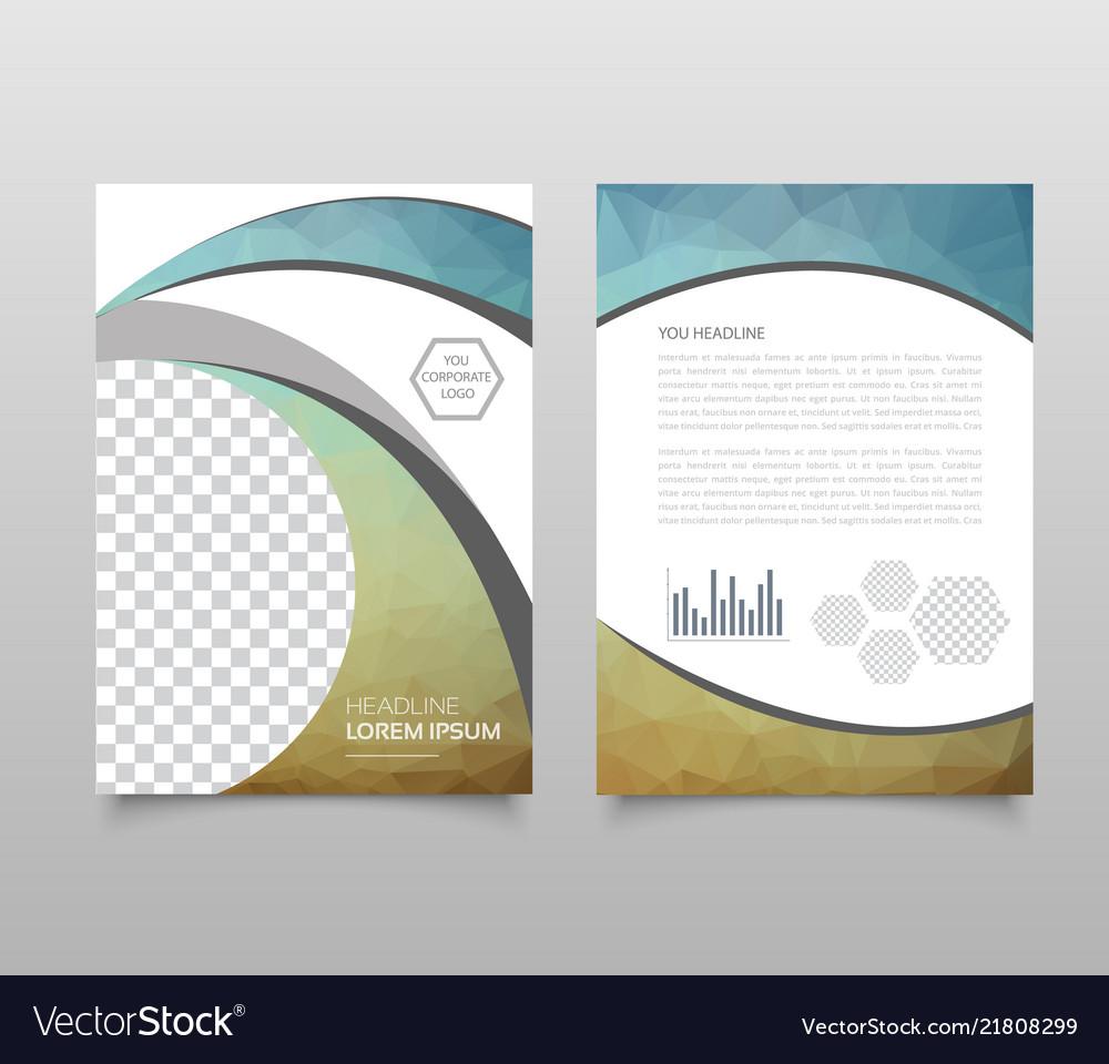 Trendy geometric triangular and other design