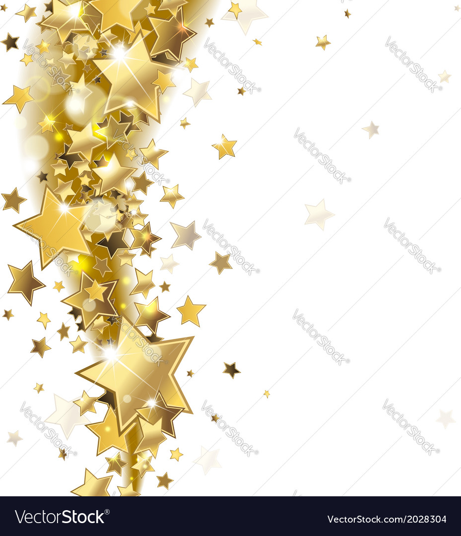 background with gold stars royalty free vector image