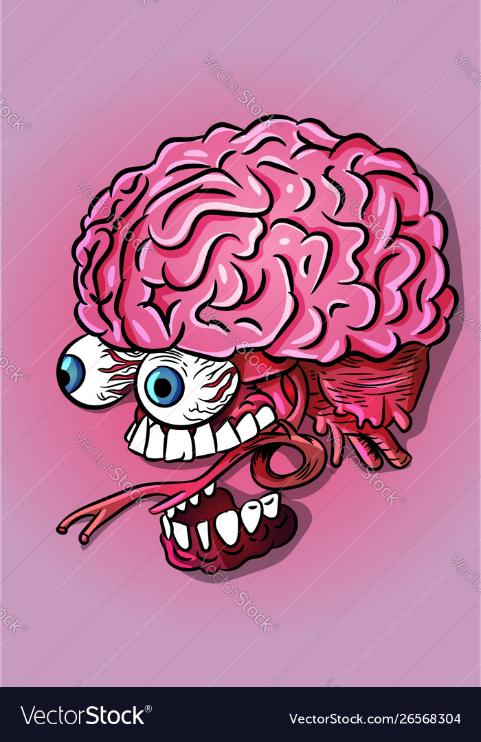 Brain jaw and eyes neurology science biology