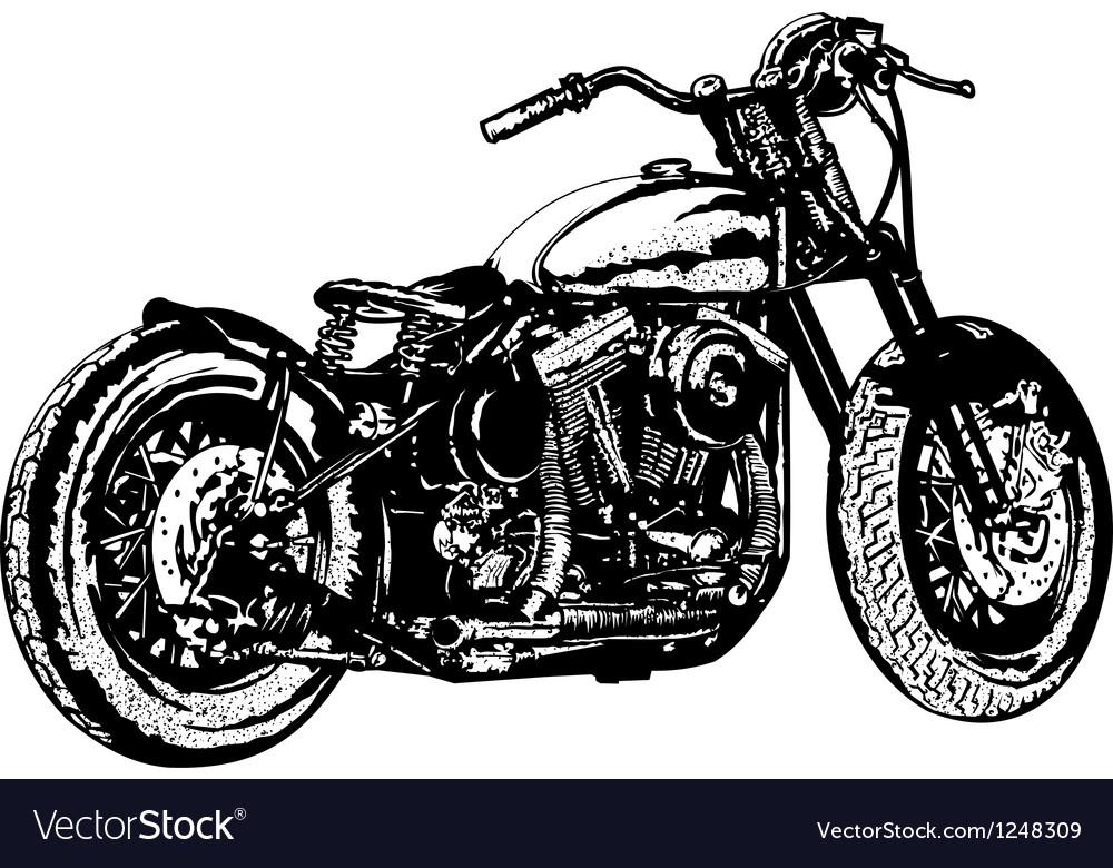 Motorcycle 3 vector image