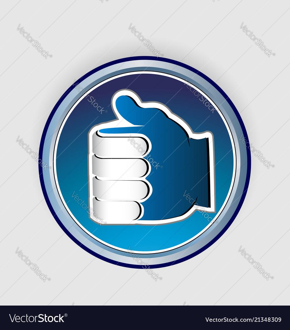 Thumbs up like icon