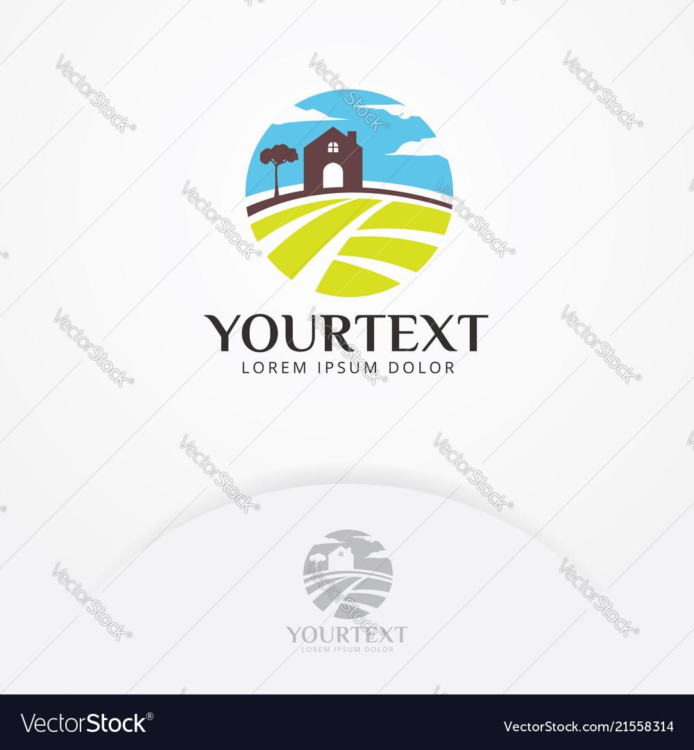 Farm house logo