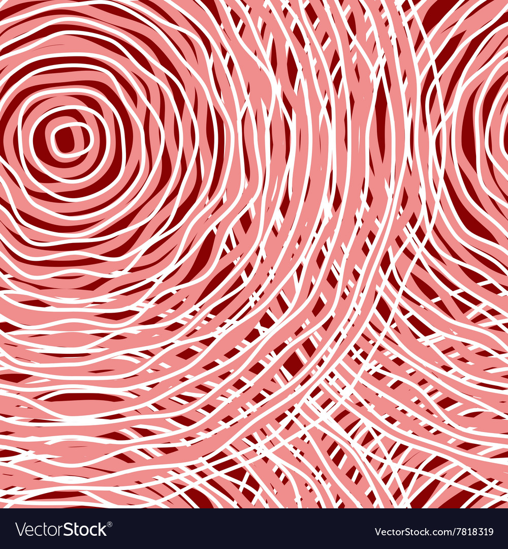 Pink circle abstract seamless pattern