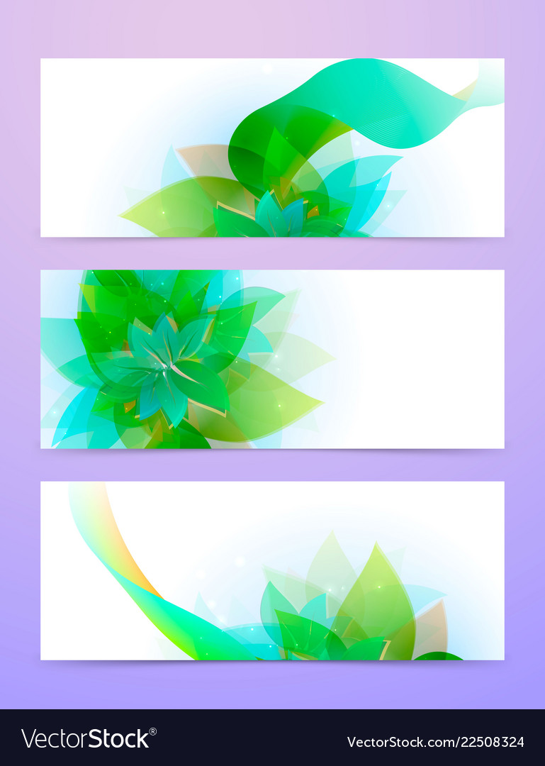 Abstract background with green sheet
