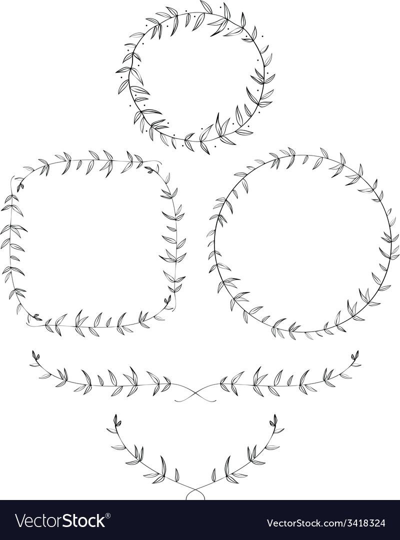 Olive Leaf Laurels and Wreaths