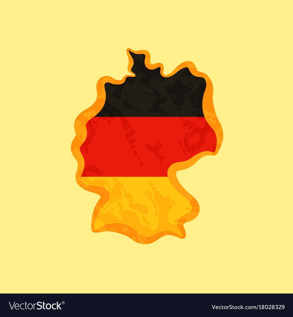 Map of germany colored with german flag and German Flag Map on german flags of the world, germany map, state flags map, rhine river map, england map, german stereotypes, german world war 1 map, german state flags,