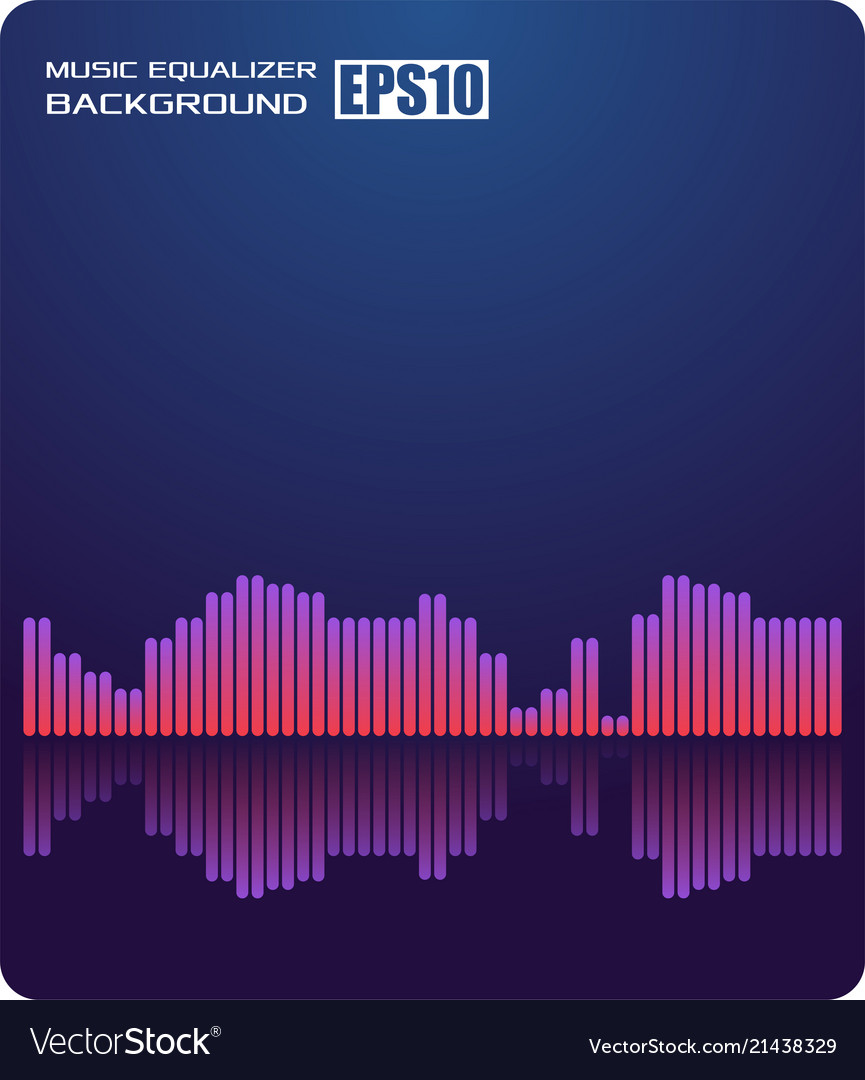 Music abstract background blueequalizer for music