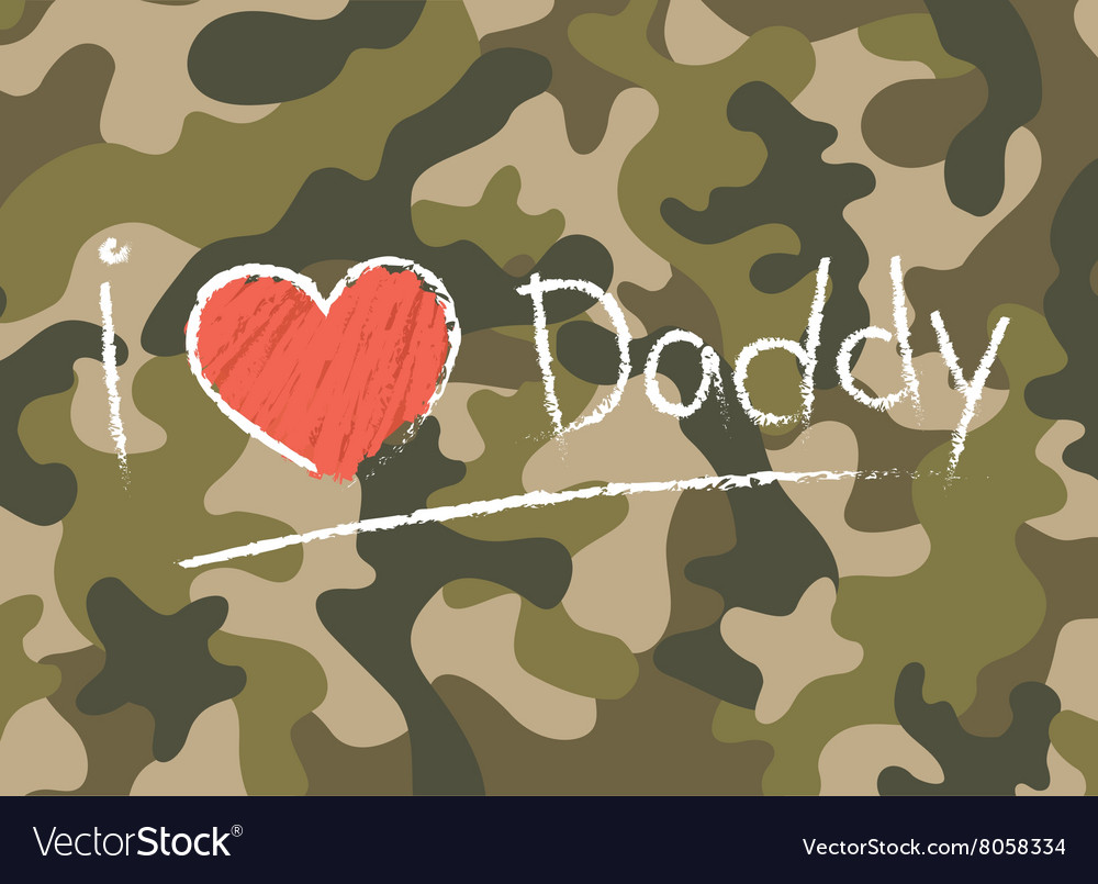 Cards I love daddy Happy fathers day