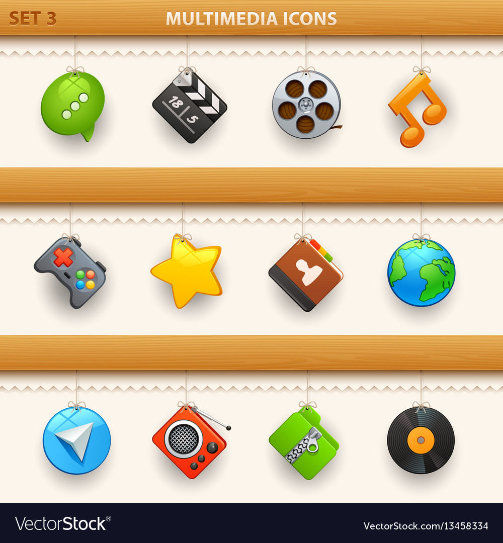 Hung icons - set 3