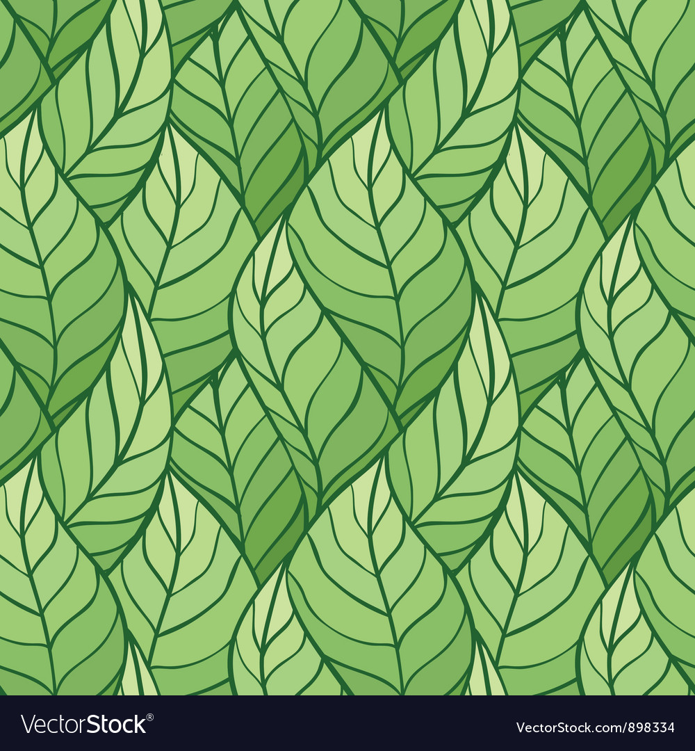 Leaves Seamless stylish pattern