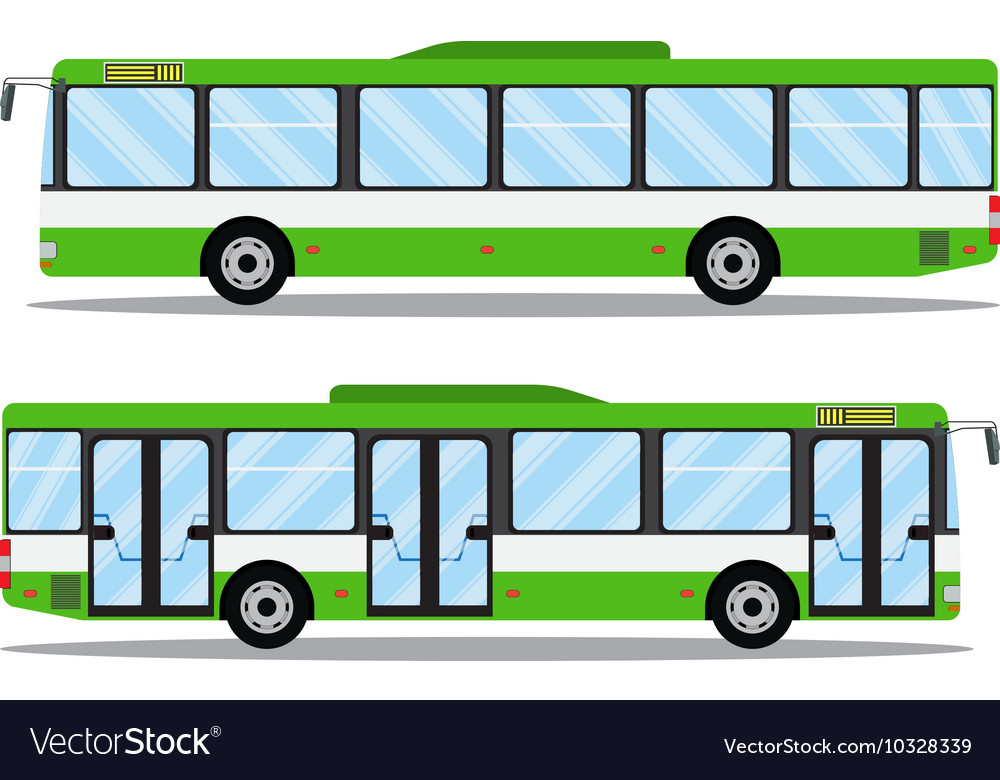 City transit shorter distance bus