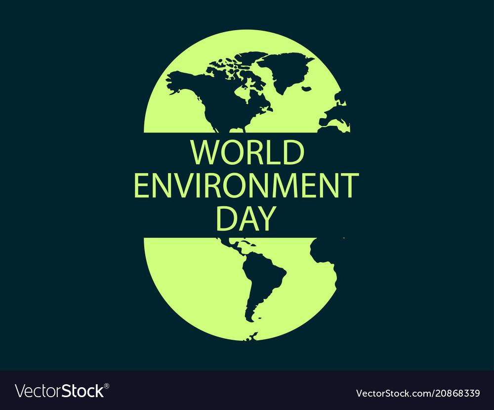 World environment day banner design logo design
