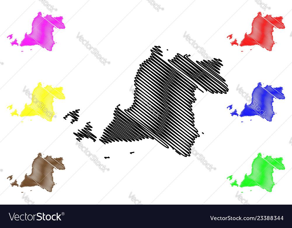 Banten map
