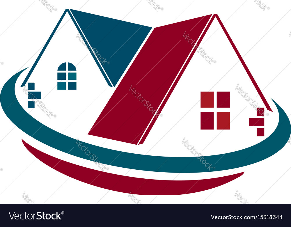 Homes for sale vector image