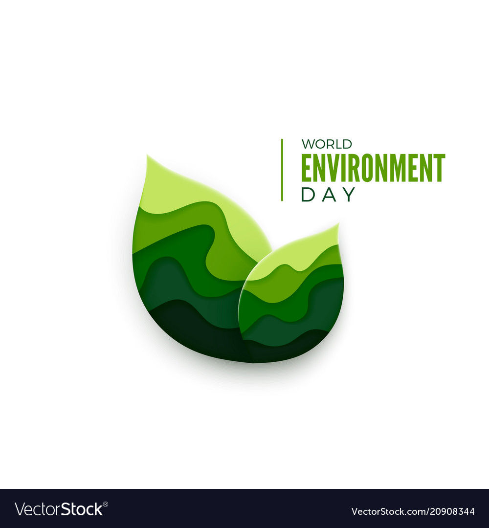 World environment day abstract green leaves