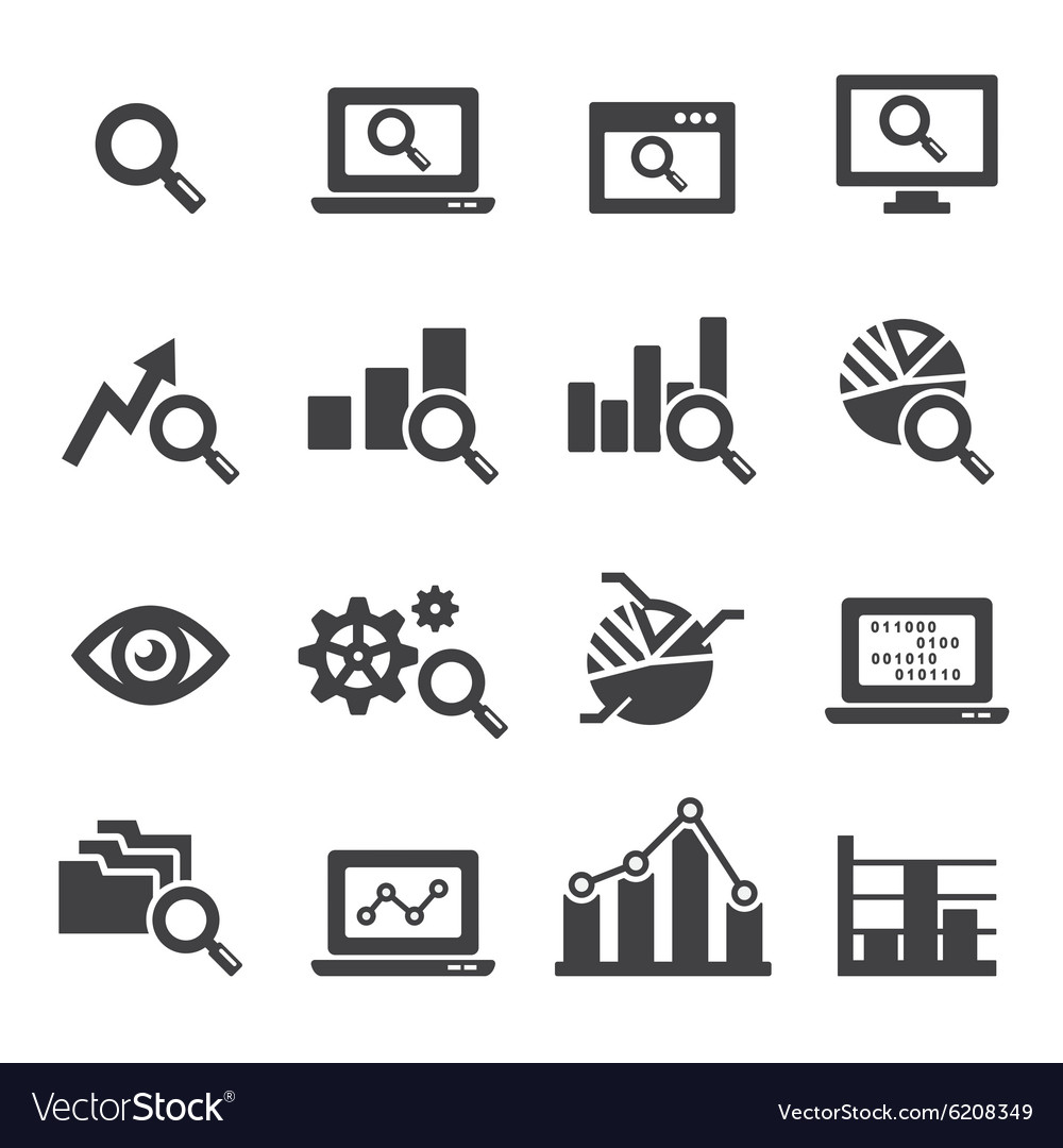 analysis of image as icon Download this data analysis line icon vector illustration now and search more of istock's library of royalty-free vector art that features analyzing graphics available for quick and easy download.