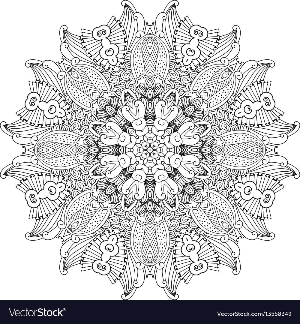 Mandala design element