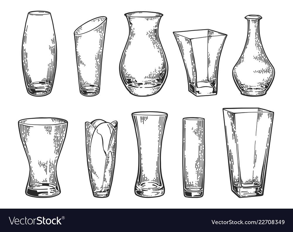 Vase set sketch 2
