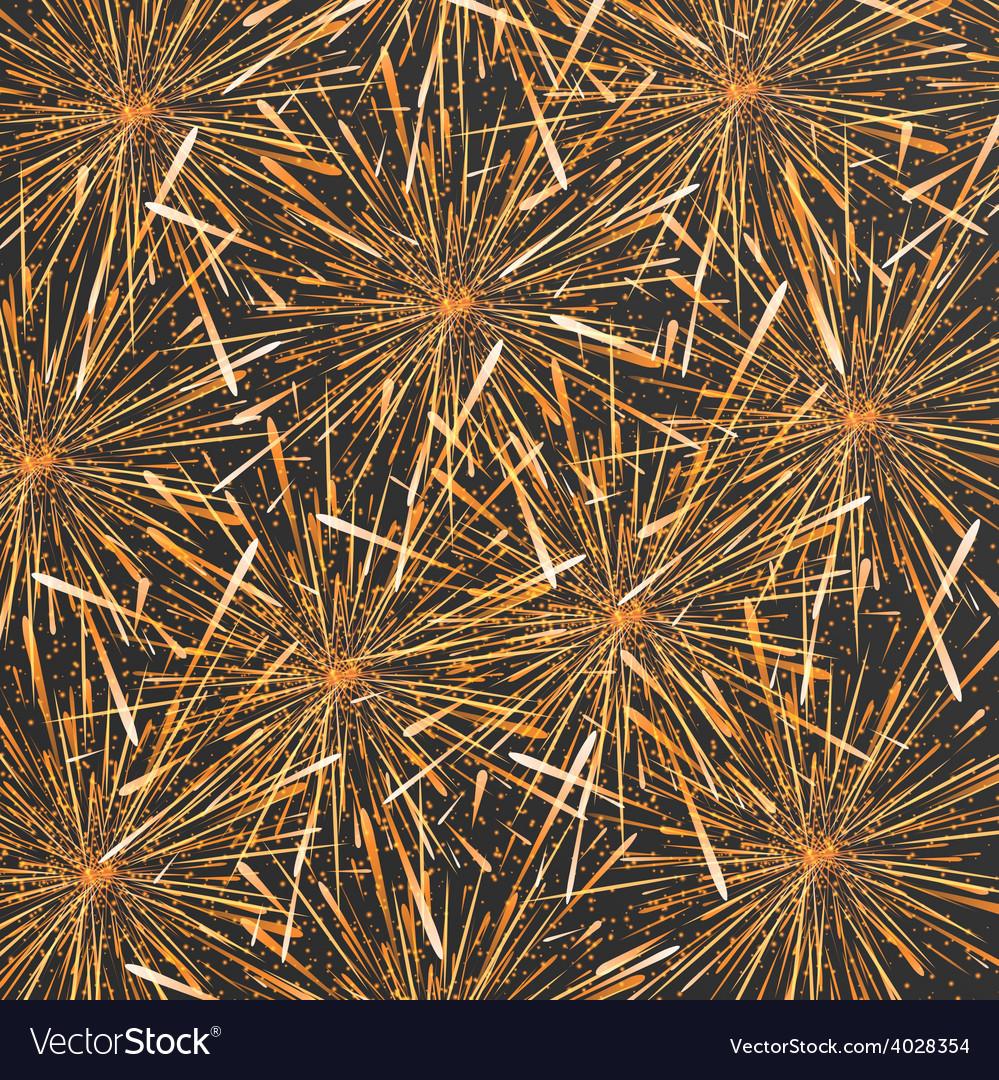 Modern fireworks background design