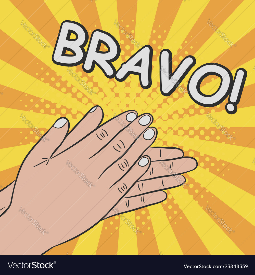 Hands Clapping Applause Bravo Royalty Free Vector Image Fitz and the tantrums handclap. vectorstock