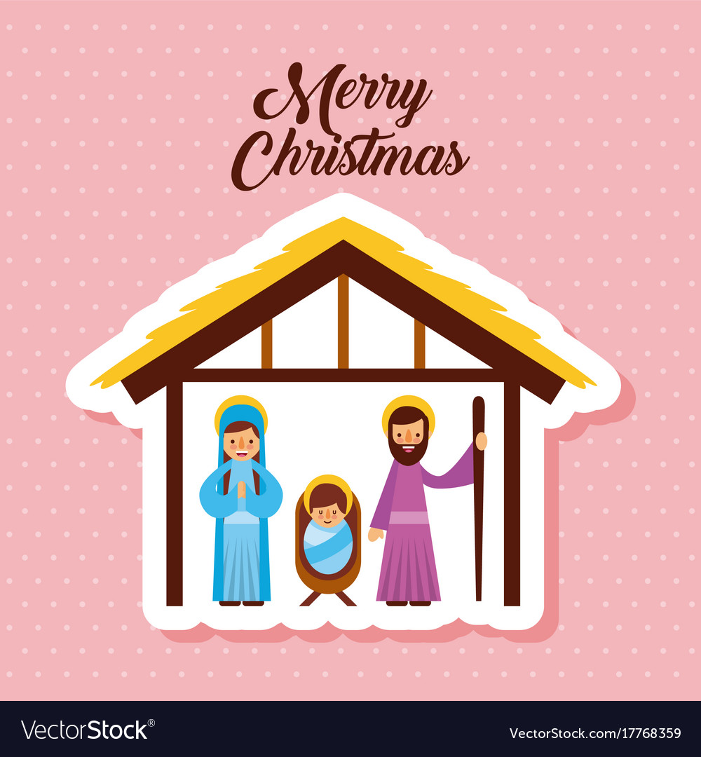 Religious Merry Christmas Images.Merry Christmas Holy Family Traditional Religious