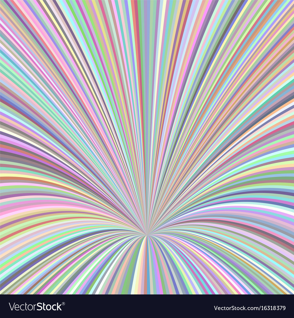 Abstract ray burst design background - graphic