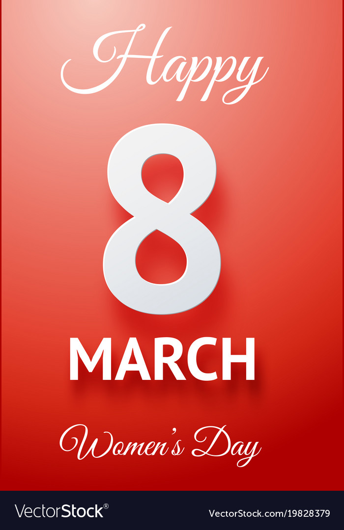 Happy womens day poster