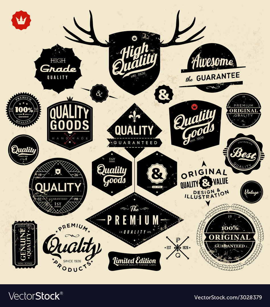 Premium and high quality labels