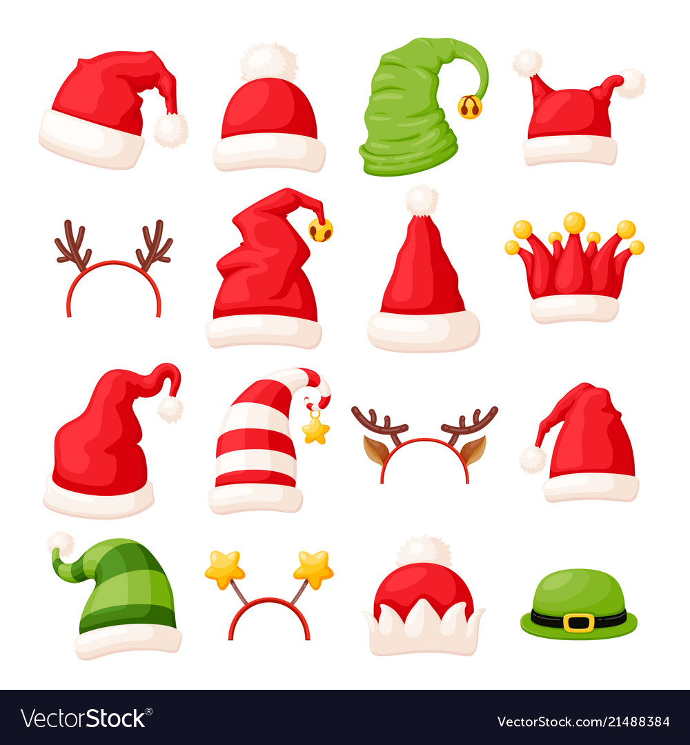 Christmas hats and head accessories