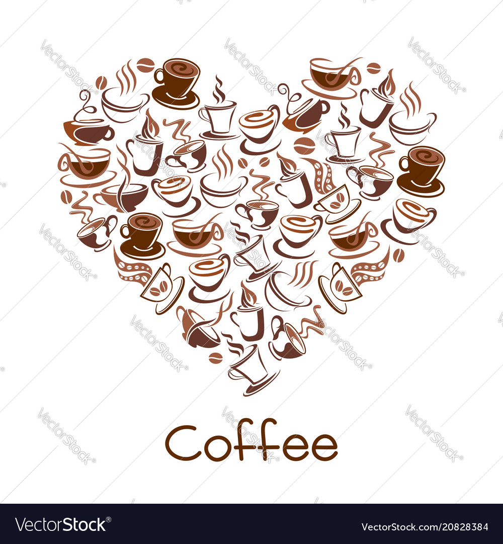 Cup coffee sign