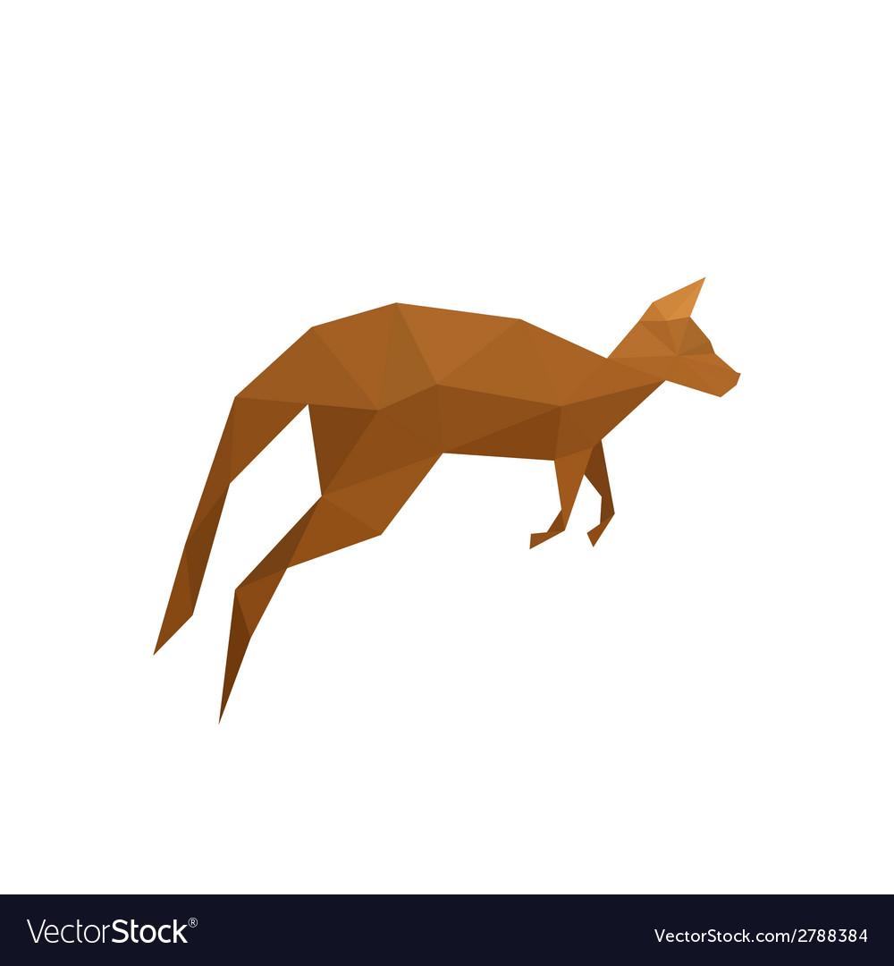 Origami Kangaroo (SVG Plotterdatei) von Creative Fabrica Crafts ... | 1080x1000
