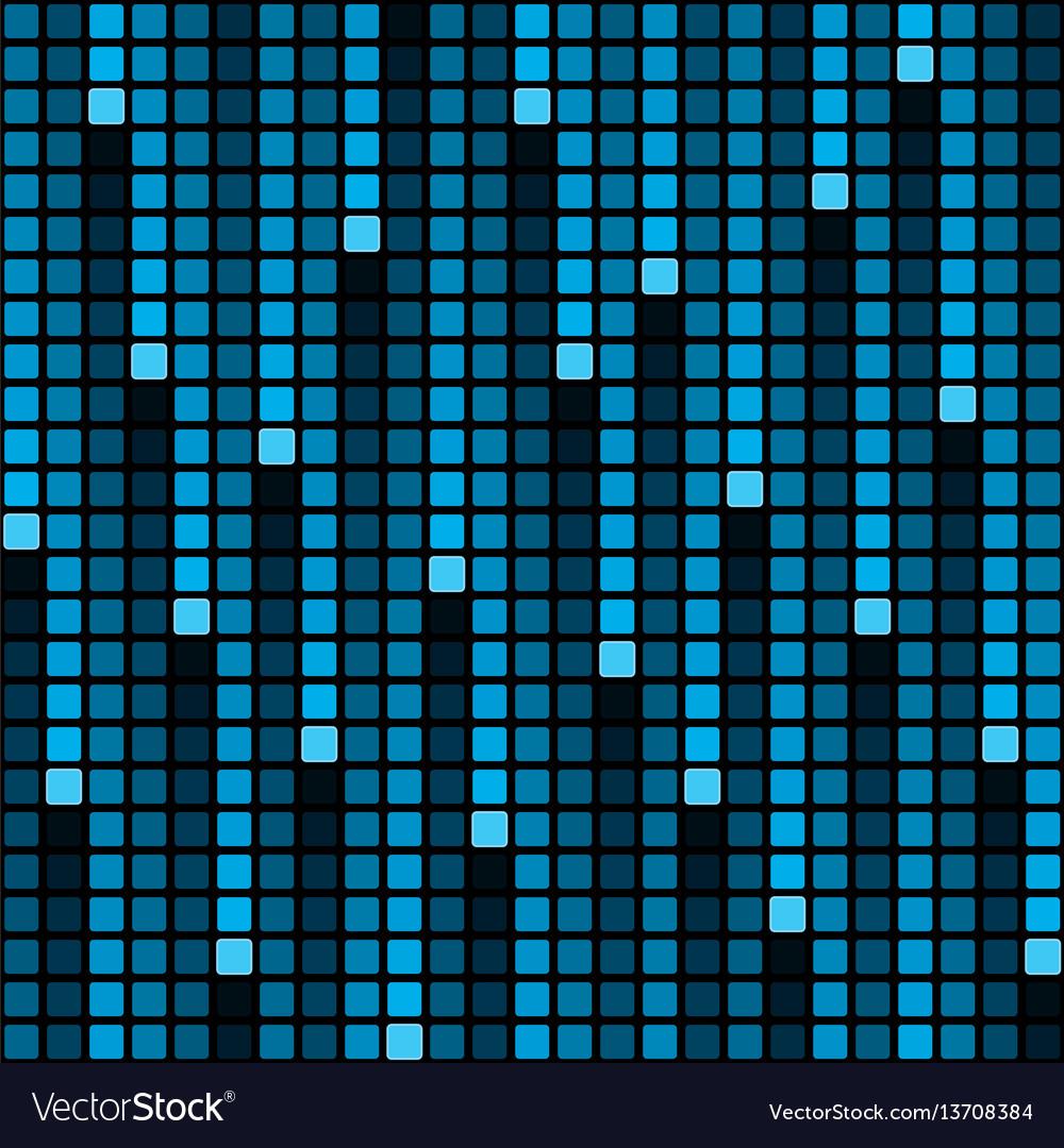 Pixel rain background