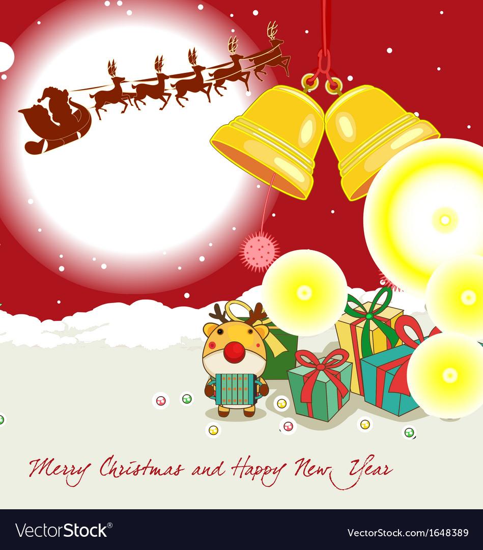 christmas border vector image - Merry Christmas Border