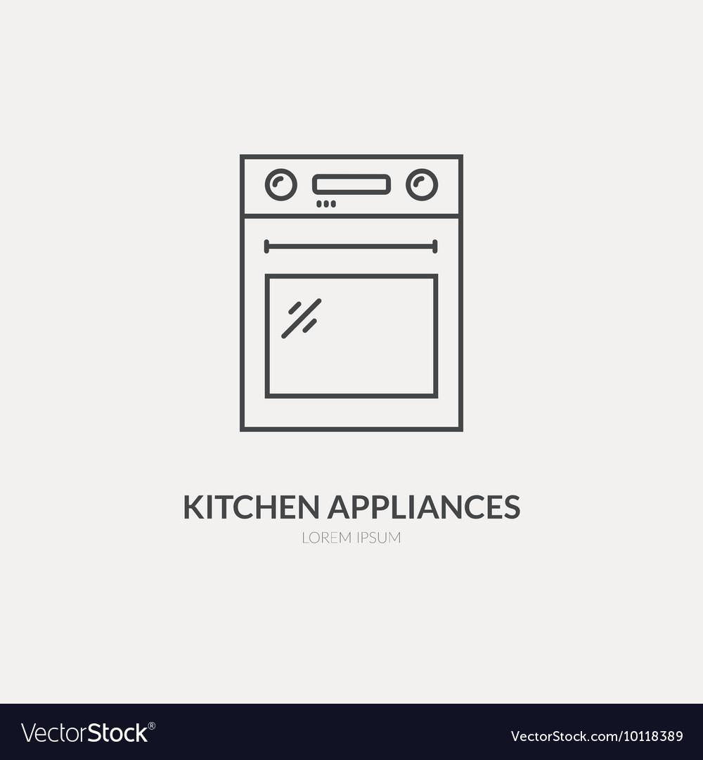 House Appliances Logo Royalty Free Vector Image