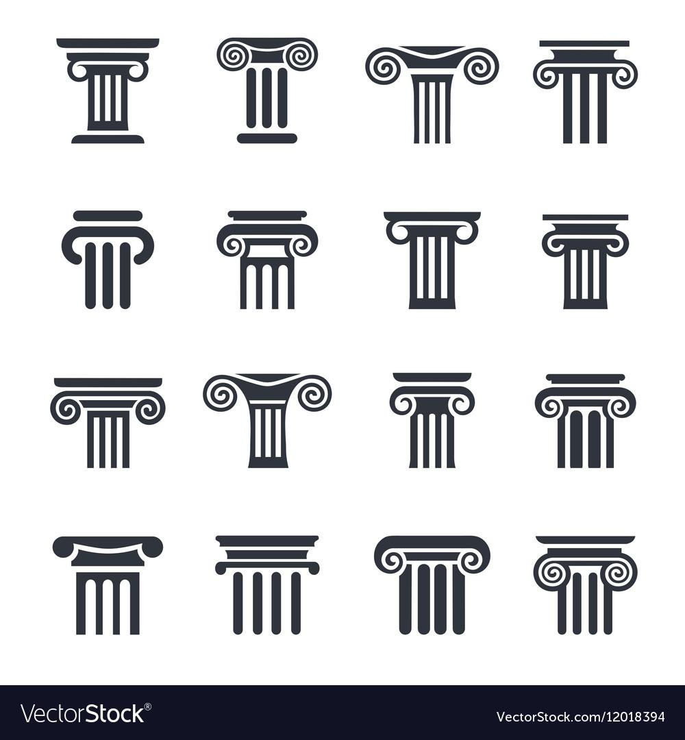 Column icons 16