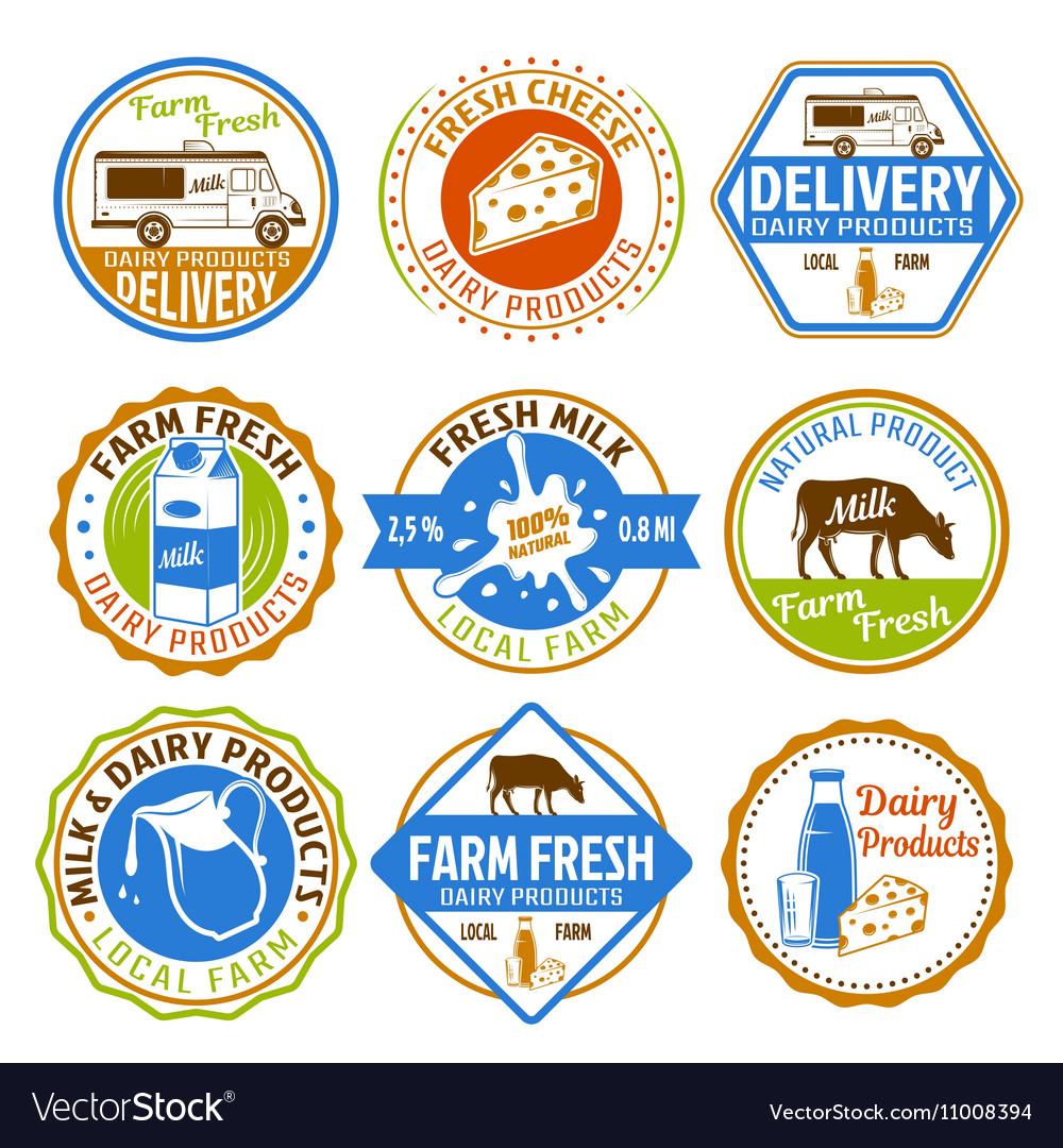Milk Colored Emblems